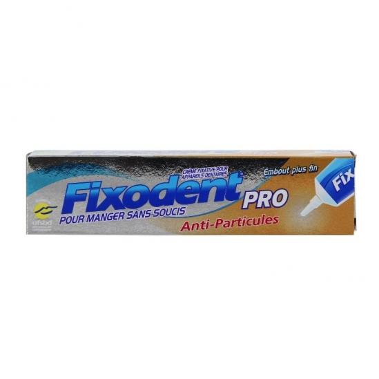 Fixodent pro crème anti-particules 40g