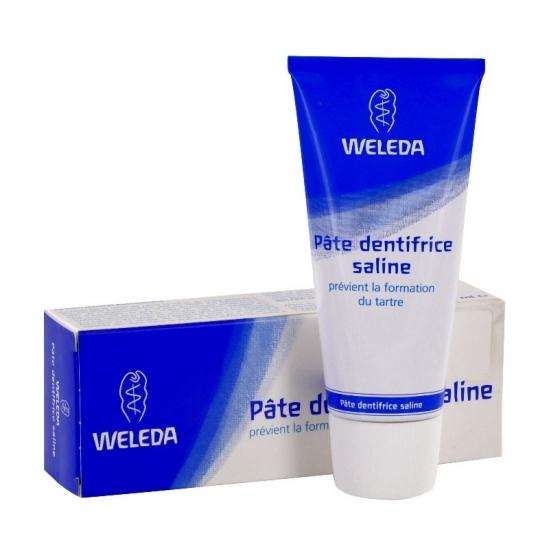 Weleda pâte dentifrice saline 75ml