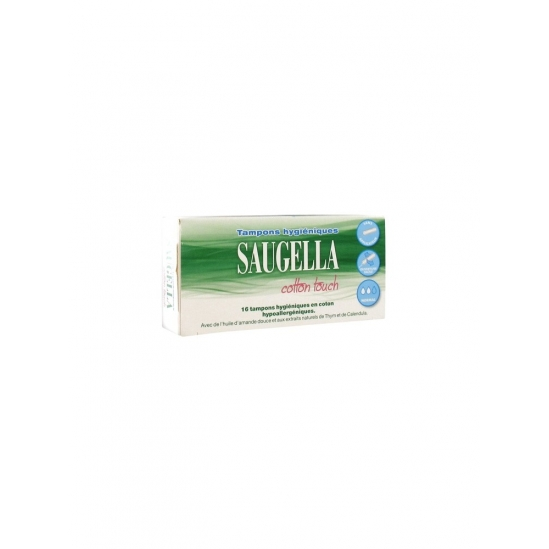 Saugella Cotton Touch Normal 16 Tampons