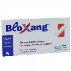 Bausch + Lomb Bloxang 5 Eponges Hémostatique