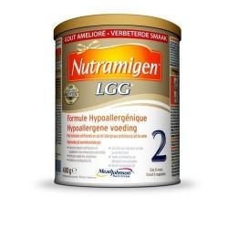 Nutramigen 2 LGG formule hypoallergénique dès 6 mois lait en poudre 400g