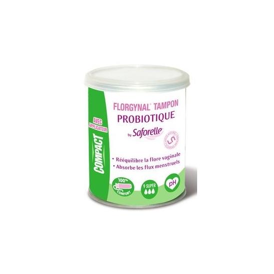Florgynal Tampon Probiotique x9