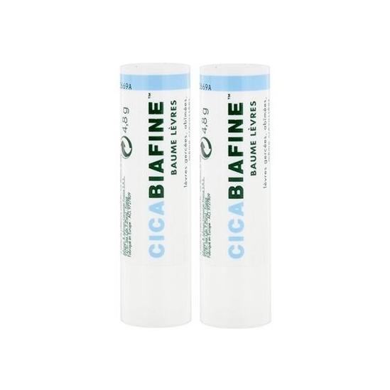 Cicabiafine Baume Lèvres Lot de 2