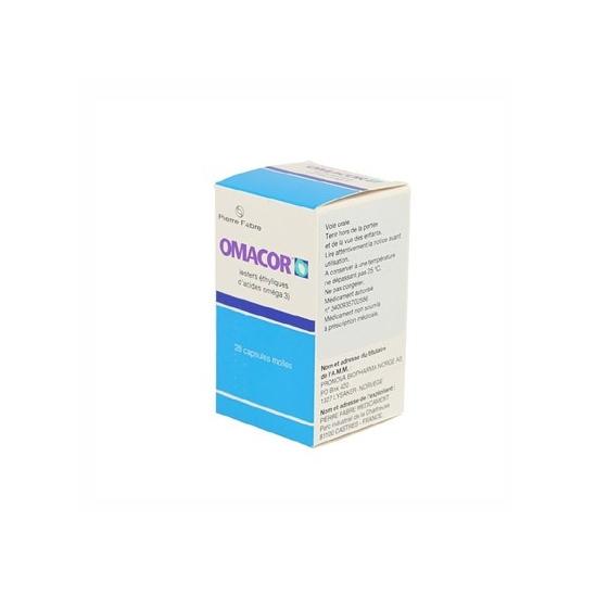 Omacor 28 capsules