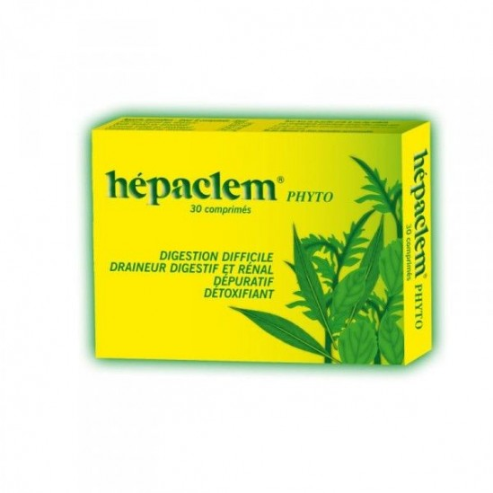 Hepaclem Phyto Comprimé Boîte de 30