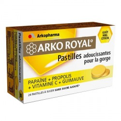 Arkopharma arko royal pastilles goût miel citron x 24