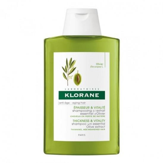 Klorane Shampooing à l'Extrait Essentiel d'Olivier 400 ml