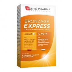 Forté pharma bronzage express boite de 30 gélules