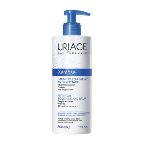Uriage Xémose baume oléo apaisant anti-grattage flacon 500ml