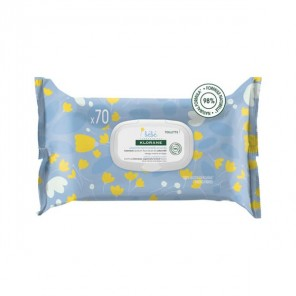 Klorane nettoyantes douce bébé 70 lingettes