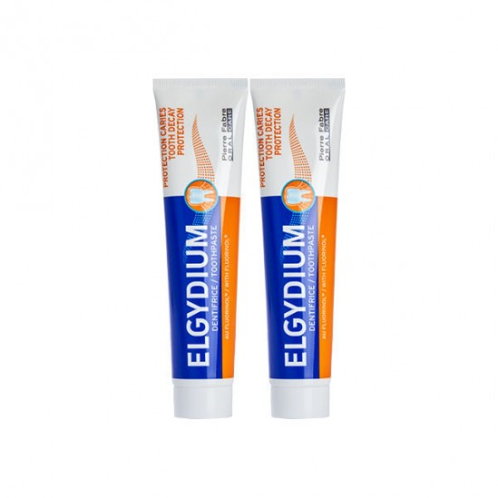 Elgydium dentifrice protection caries 75mlx2