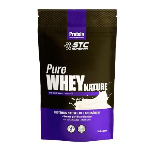 Stc nutrition pure whey nature complément alimentaire 500g