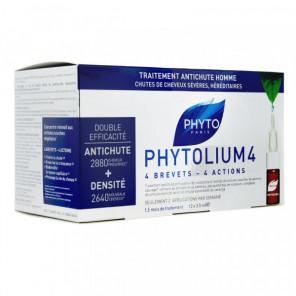 Phyto phytolium 4 traitement anti-chute homme 12 fioles