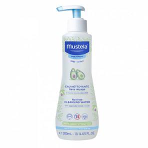 Mustela peau normale eau nettoyante sans rinçage à l'avocat bio 300ml