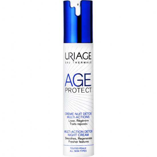 Uriage age protect crème nuit detox multi-actions 40ml
