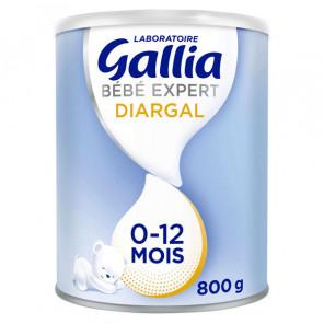 Gallia bébé expert diargal lait 0-12 mois 800g