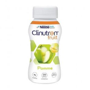 Nestlé clinutren fruit saveur pomme bouteille 200mlx4