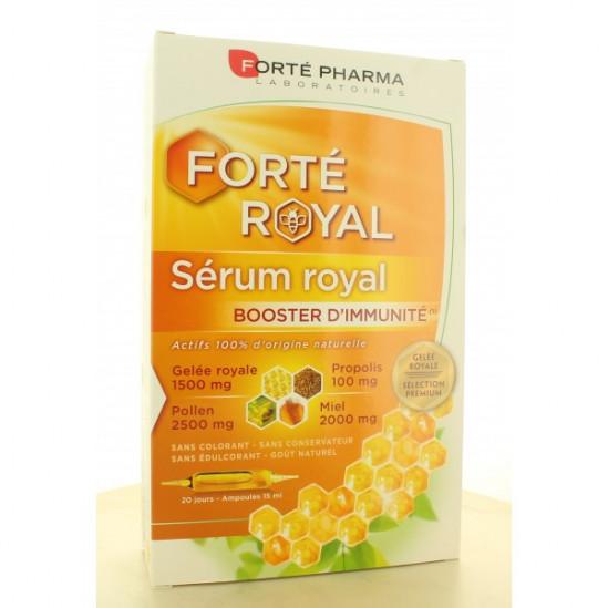 Forté pharma sérum royal ampoules 15mlx20