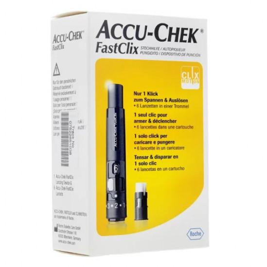 Accu-chek fastclix l'autopiqueur à barillet