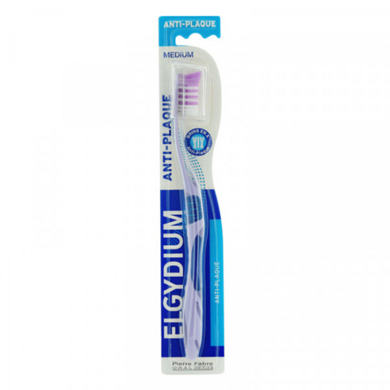 Elgydium brosse à dents anti-plaque medium